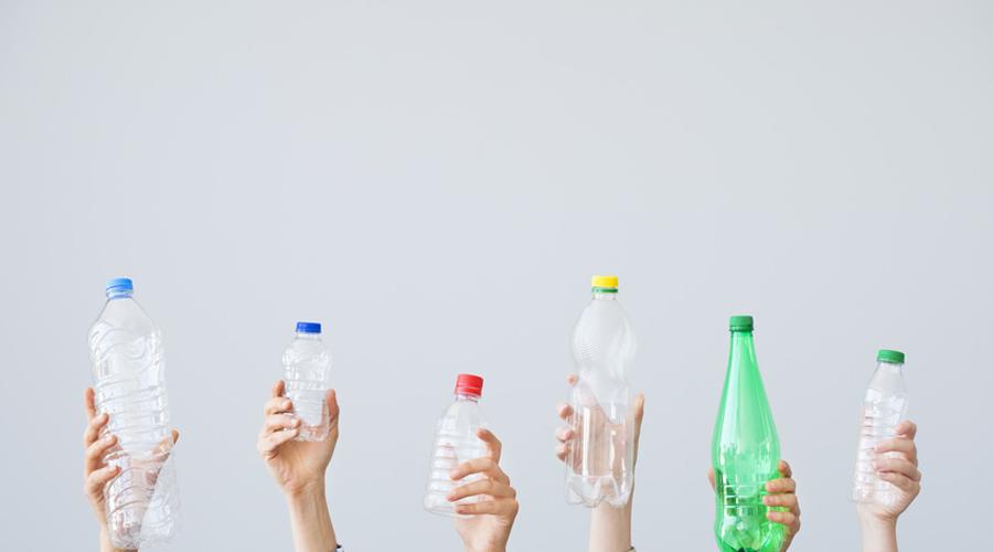 les objets en plastique